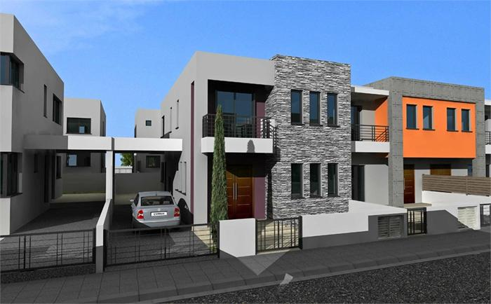 Semi-detached House For Sale In Agios Sylas (3 Bedroom)
